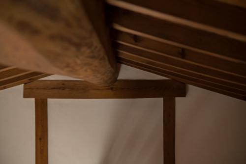 土蔵の天井の写真