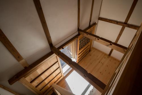 2階から見下ろす写真