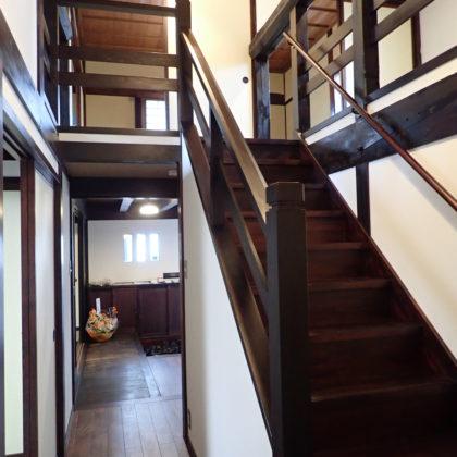 S邸階段写真