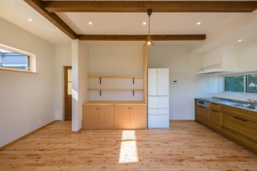 S邸キッチン棚2